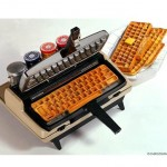 geek breakfast waffles