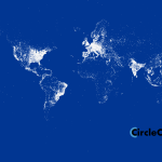Google Plus world map
