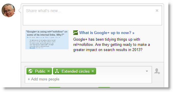 google-plus-post-rich-snippet