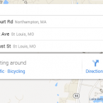 New Google Maps Search Box