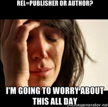 rel=publisher vs rel=author