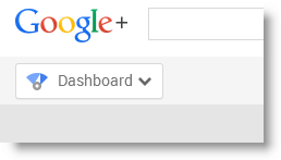 Google Plus navigation button