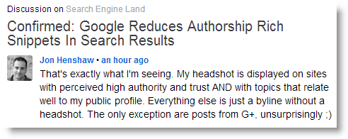 Google Begins to Purge Authorship in Search