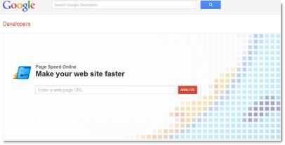 Google Page Speed Online