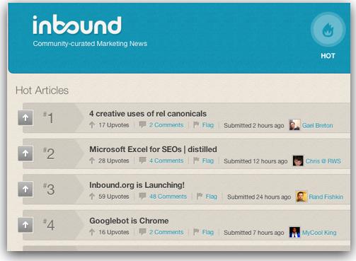 inbound.org hot page