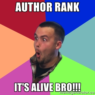 author rank is alive omg