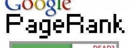 google-page-rank-dead
