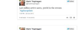 Google Plus Updates Event live tweets