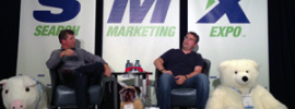 Danny Sullivan and Matt Cutts at SMX Advanced 2013